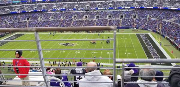 M&T Bank Stadium, Abschnitt: 551, Reihe: 5, Platz: 15