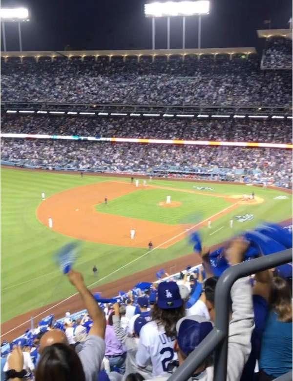Dodger Stadium, Abschnitt: 45RS, Reihe: AA, Platz: 3