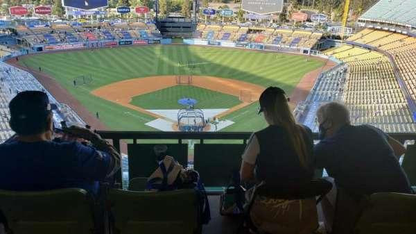 Dodger Stadium, Bereich: 1RS, Reihe: W, Platz: 1-4