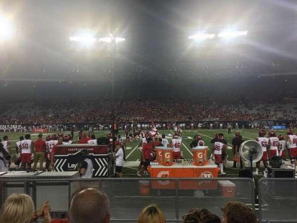 Arizona Stadium, Abschnitt: 30, Reihe: 11, Platz: 26