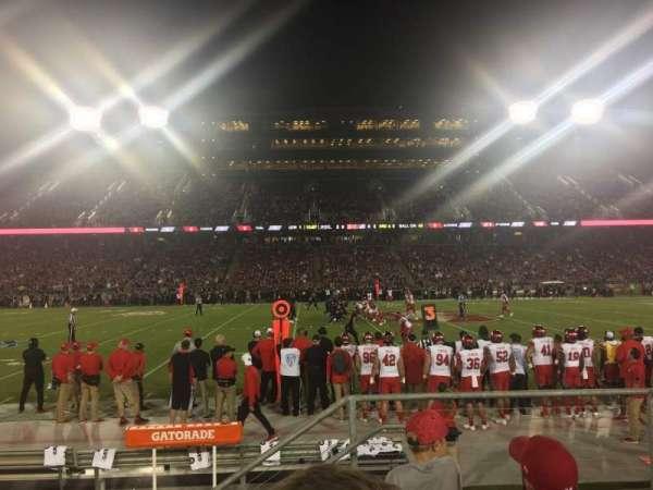 Stanford Stadium, Abschnitt: 134, Reihe: D, Platz: 3