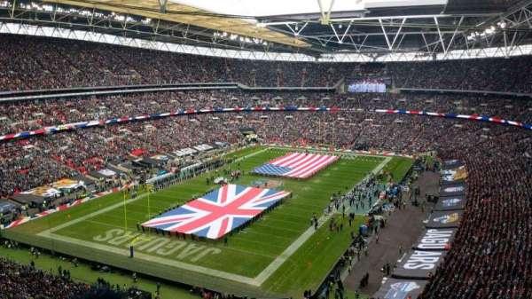 Wembley Stadium, Abschnitt: 536, Reihe: 20, Platz: 279