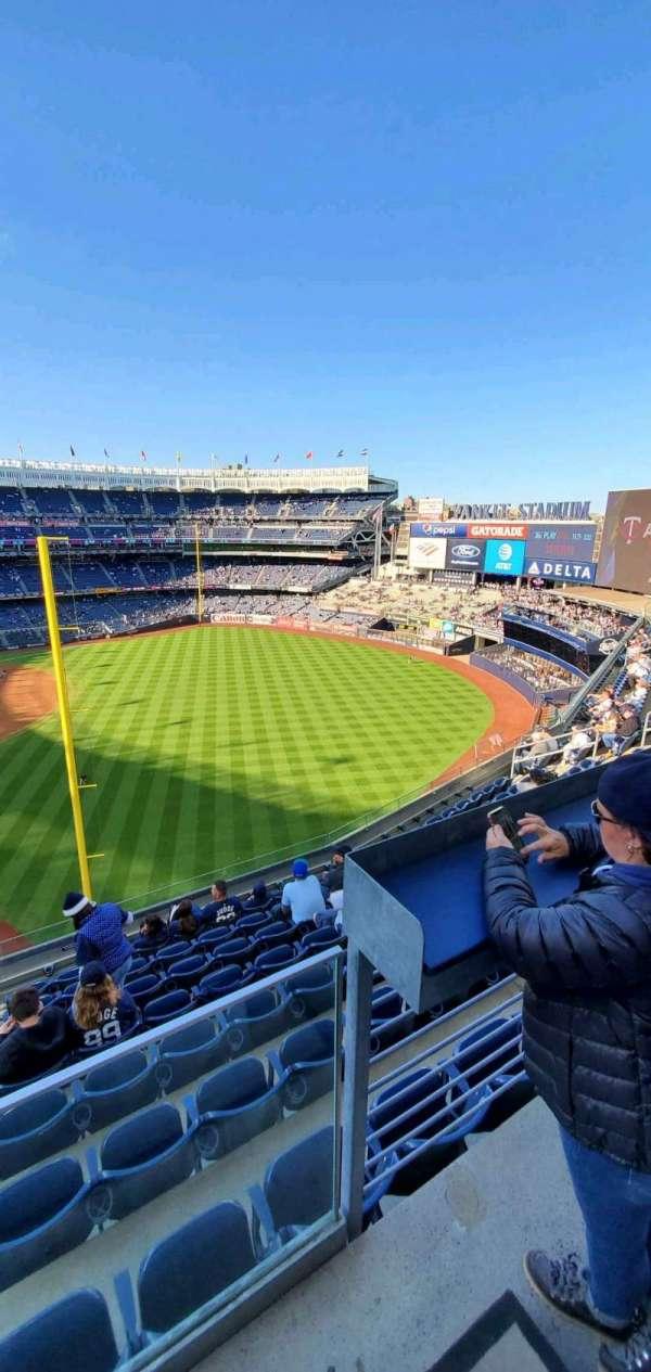 Yankee Stadium, Abschnitt: 309, Reihe: 6, Platz: 9