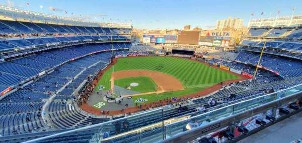 Yankee Stadium, Abschnitt: 418, Reihe: 14, Platz: 1