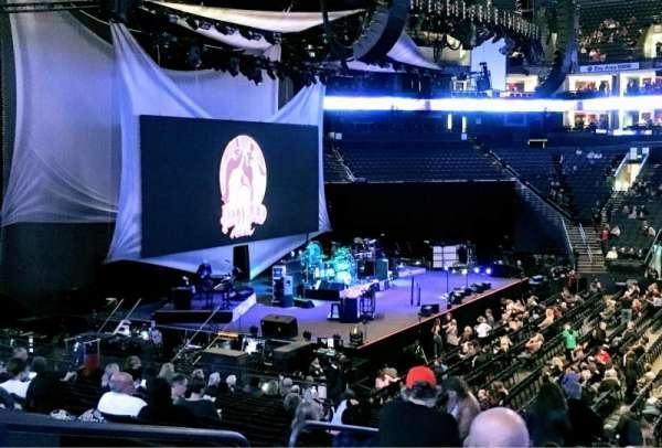 Oracle Arena, Abschnitt: 115, Reihe: 20, Platz: 10