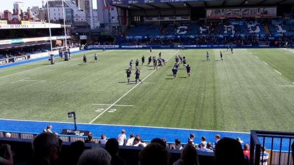 Cardiff Arms Park, Abschnitt: 14, Reihe: F, Platz: 19