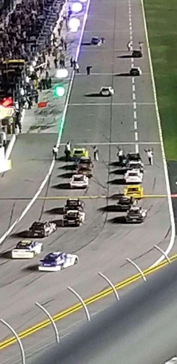 Daytona International Speedway, Abschnitt: 413, Reihe: 25, Platz: 1