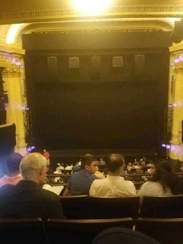 Hudson Theatre, Abschnitt: dress circle c, Reihe: e, Platz: 108