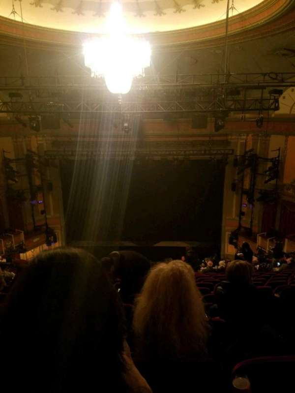 Neil Simon Theatre, Abschnitt: mezz, Reihe: P, Platz: 116