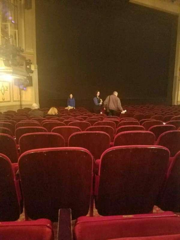 Neil Simon Theatre, Abschnitt: orch, Reihe: o, Platz: 15