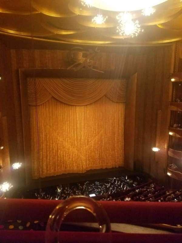 Metropolitan Opera House - Lincoln Center, Abschnitt: Balcony, Reihe: A, Platz: 3