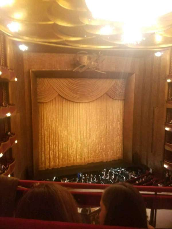 Metropolitan Opera House - Lincoln Center, Abschnitt: Balcony, Reihe: B, Platz: 9