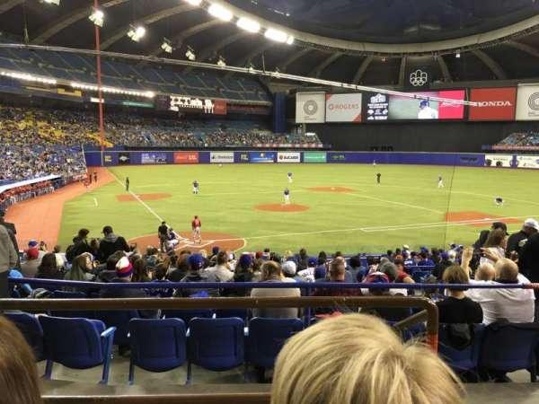 Olympic Stadium, Montreal, Abschnitt: 103, Reihe: C, Platz: 13