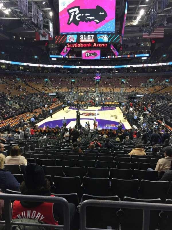 Scotiabank Arena, Abschnitt: 102, Reihe: 18, Platz: 14