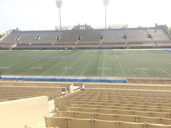 H. A. Chapman Stadium, Abschnitt: 116, Reihe: 15, Platz: 15
