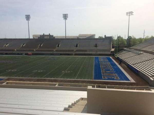 H. A. Chapman Stadium, Abschnitt: 115, Reihe: 37, Platz: 1