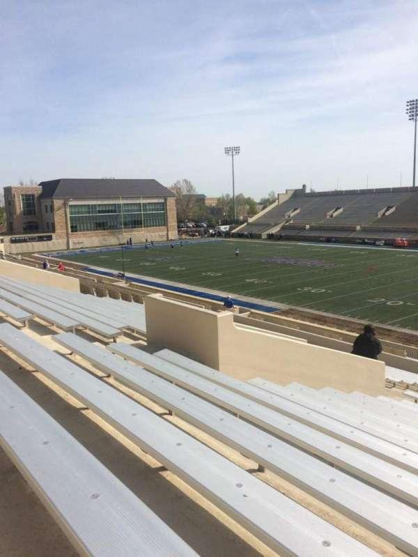 H. A. Chapman Stadium, Abschnitt: 114, Reihe: 37, Platz: 14