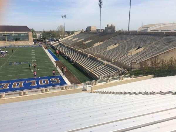 H. A. Chapman Stadium, Abschnitt: 110, Reihe: 46, Platz: 13
