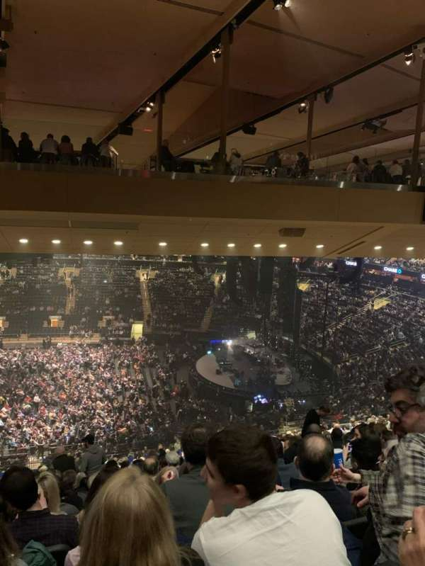 Madison Square Garden, Abschnitt: 212, Reihe: 19, Platz: 8