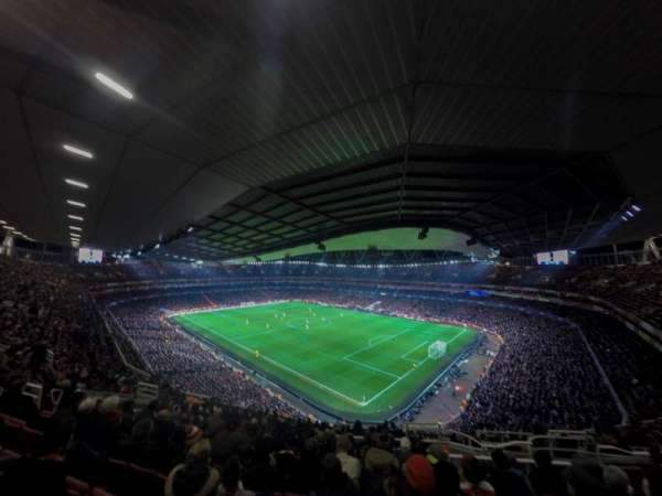 Emirates Stadium, Bereich: 107, Reihe: 17, Platz: 455