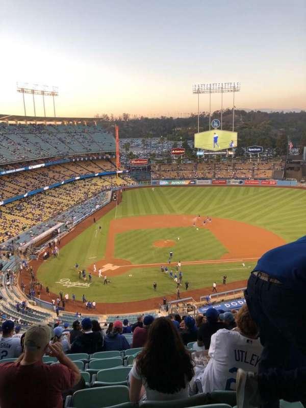Dodger Stadium, Abschnitt: 8RS, Reihe: S, Platz: 19