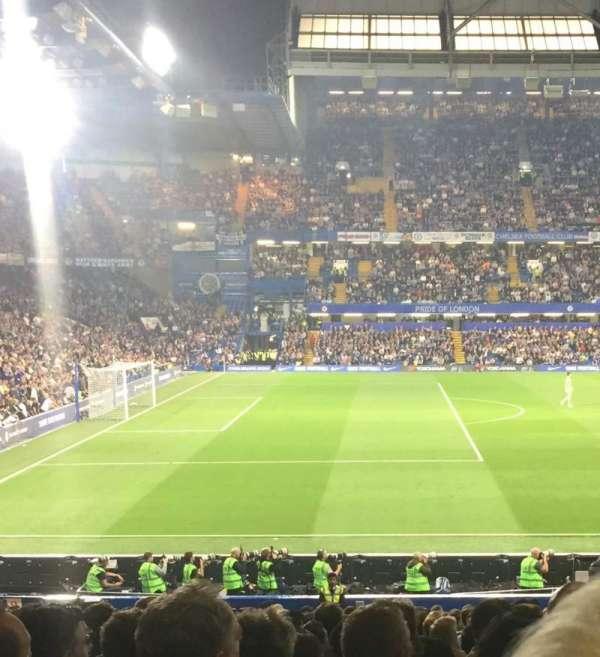 Stamford Bridge , Abschnitt: West stand lower, Reihe: 31, Platz: 190
