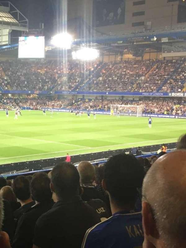 Stamford Bridge, Abschnitt: West stand lower, Reihe: 31, Platz: 190