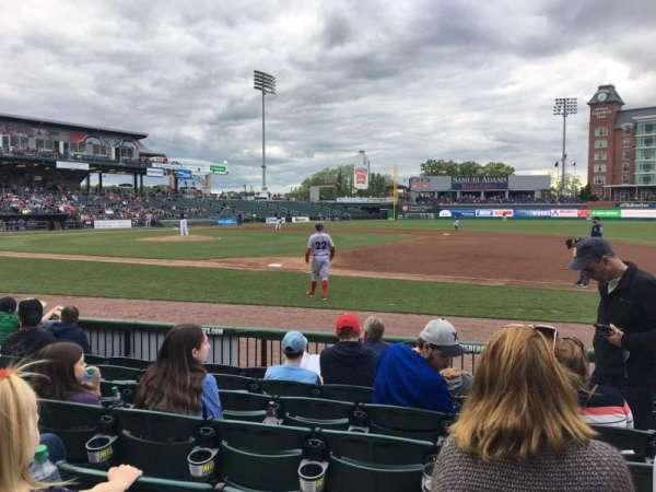 Northeast Delta Dental Stadium, Abschnitt: 114, Reihe: G, Platz: 9