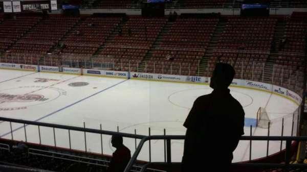 Joe Louis Arena, Abschnitt: 218B, Reihe: 5, Platz: 8
