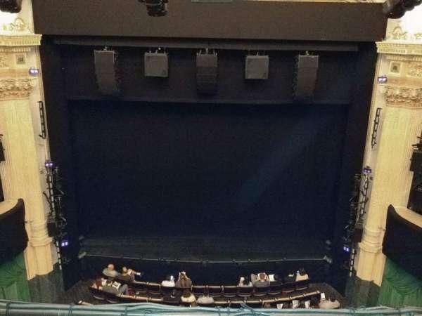 Hudson Theatre, Abschnitt: Balcony C, Reihe: B, Platz: 108