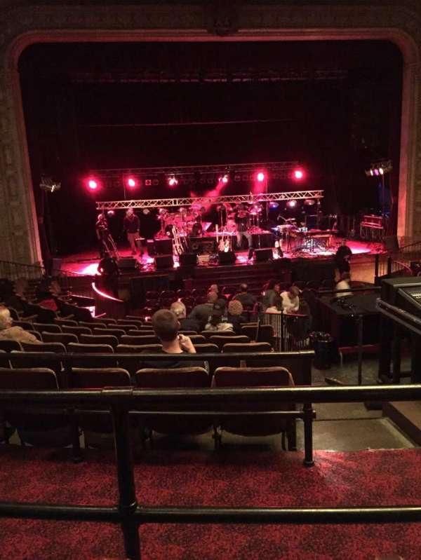 Scottish Rite Auditorium, Abschnitt: Mezzanine Left Center, Reihe: J, Platz: 109