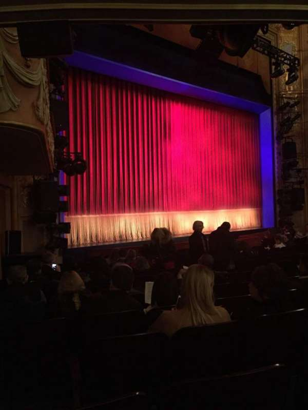 Longacre Theatre, Abschnitt: Orchestra L, Reihe: N, Platz: 20