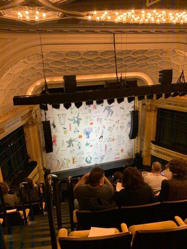 Hudson Theatre, Abschnitt: Balcony C, Reihe: H, Platz: 101