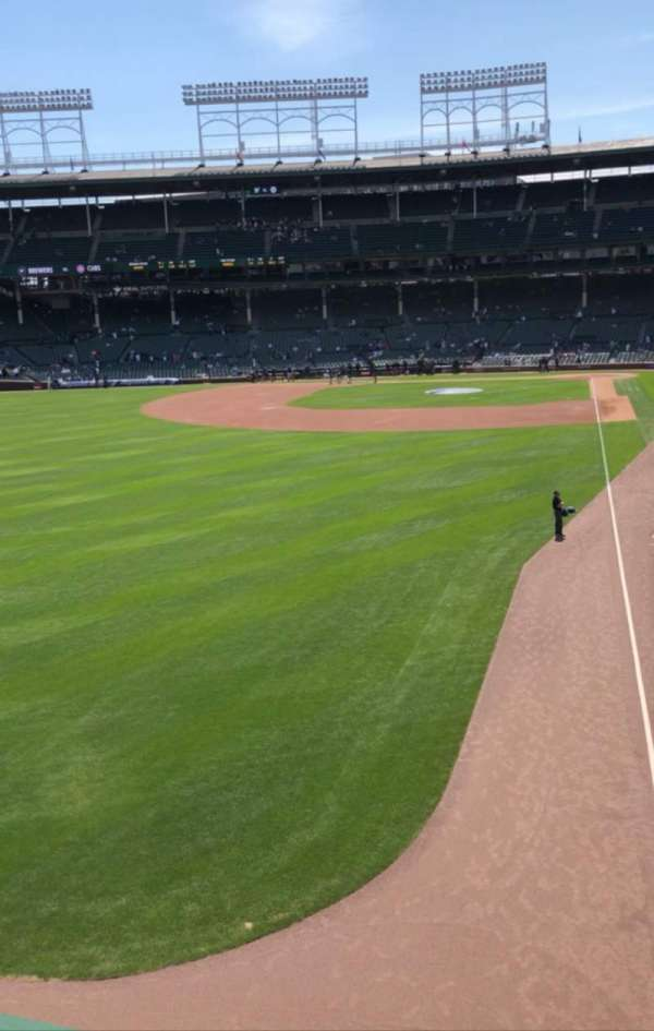 Wrigley Field, Bereich: Terrace, Reihe: Standing Room, Platz: Left Filed