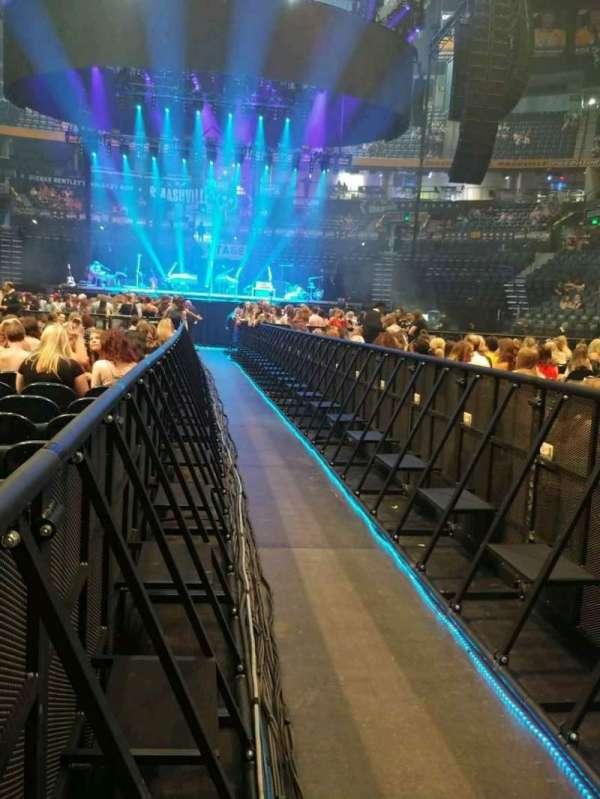 Bridgestone Arena, Abschnitt: 5, Reihe: 23, Platz: 1