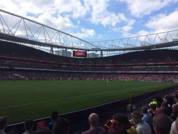 Emirates Stadium, Abschnitt: 20, Reihe: 6, Platz: 628