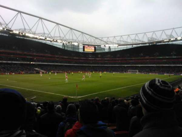 Emirates Stadium, Abschnitt: 21, Reihe: 14, Platz: 654