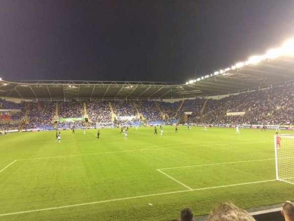 Madejski Stadium, Abschnitt: R31, Reihe: K, Platz: 154