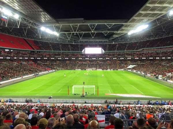 Wembley Stadium, Abschnitt: Home End