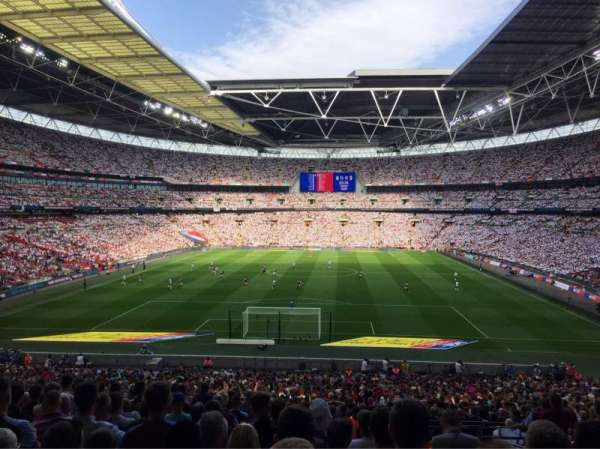 Wembley Stadium, Abschnitt: 133, Reihe: 44, Platz: 309