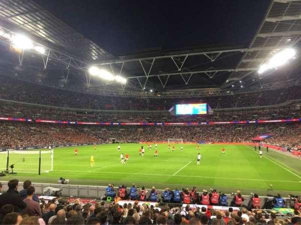 Wembley Stadium, Abschnitt: 109, Reihe: 18, Platz: 214