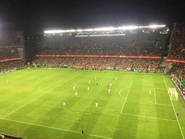 Estadio Benito Villamarin, Abschnitt: 19, Reihe: 8, Platz: 170