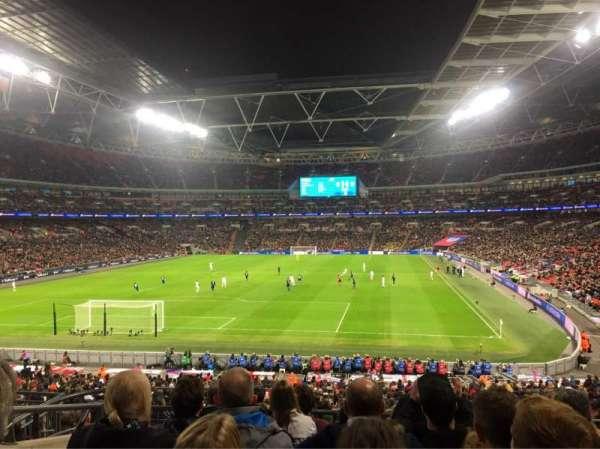 Wembley Stadium, Abschnitt: 110, Reihe: 37, Platz: 219