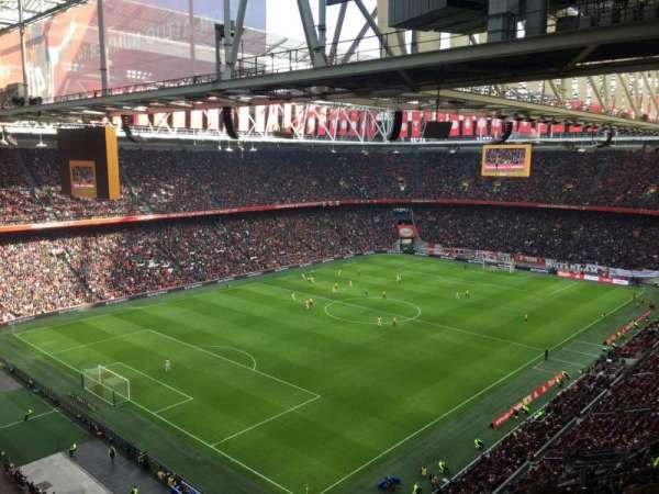 Amsterdam Arena, Abschnitt: 409, Reihe: 24, Platz: 80