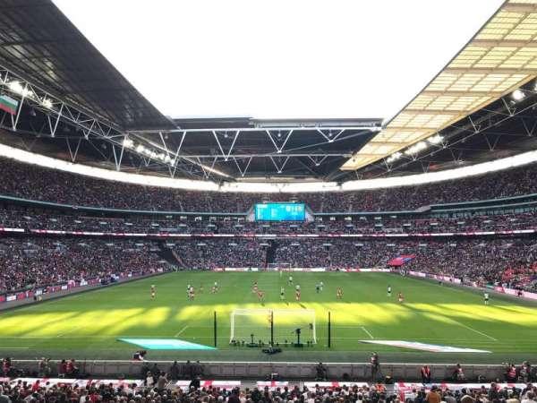 Wembley Stadium, Abschnitt: 111, Reihe: 31, Platz: 269