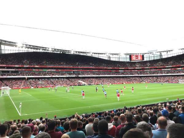 Emirates Stadium, Bereich: 20, Reihe: 18, Platz: 619