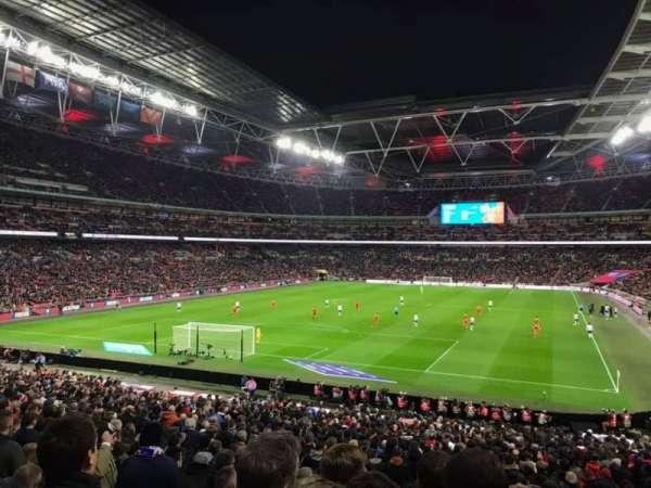 Wembley Stadium, Abschnitt: 109, Reihe: 35, Platz: 209