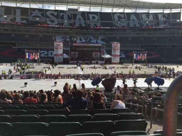 Paul Brown Stadium, Bereich: 141, Reihe: 23, Platz: 2