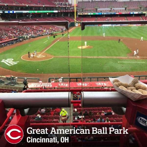 Great American Ball Park, Abschnitt: 301, Reihe: A, Platz: 2