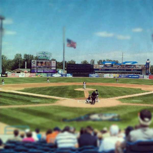 Fifth Third Ballpark, Abschnitt: 217, Reihe: 10, Platz: 12